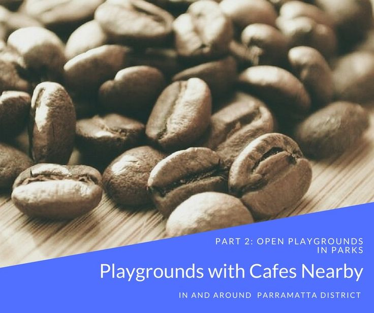 Here is a list of 20 open playgrounds with cafes nearby within 20km of Parramatta CBD. We hope you find inspiration for some fun, tasty family outings.