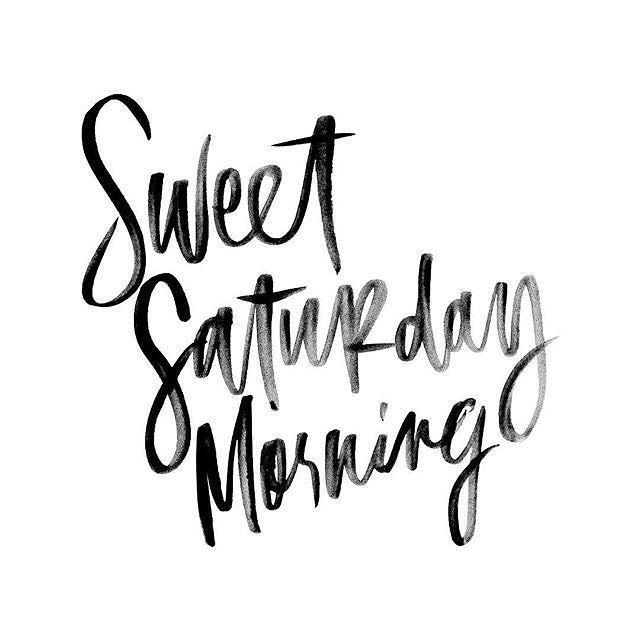 Saturday Morning ~