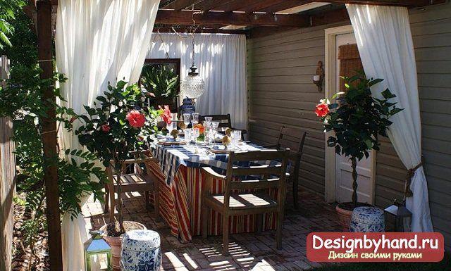 Дизайн террасы. Фото и идеи оформления