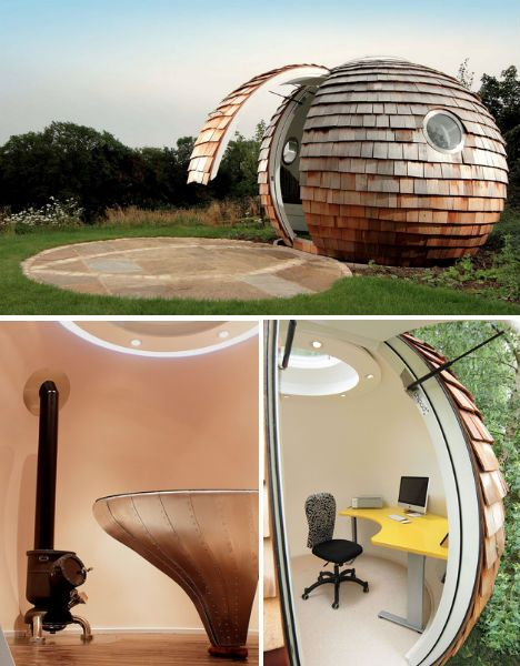 14 Outside Work Pods To Detach Yourself From The Office