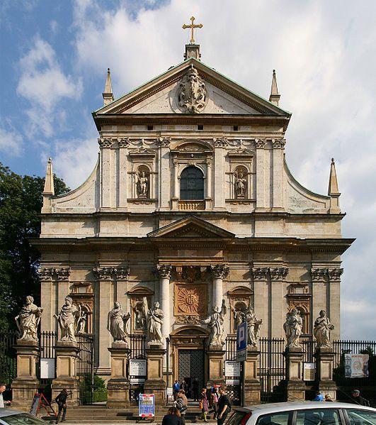 59. Giovanni Trevano, kościół św. św. Piotra i Pawła w Krakowie, k. XVI w.. Wcześniej Bernardoni i Brizio.
