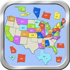 Map Apps For IPad US Geography Classical Conversations Cycle - Owl and mouse us features map