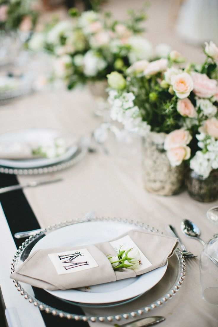 A monogram theme wedding - 15 Ways to Use Monograms