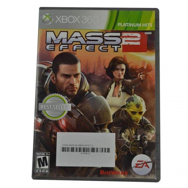 Juego Xbox 360 Mass Effect 2 Original - Juegos de Consola - TV, Consolas y Juegos - Tecnología - Sensacional