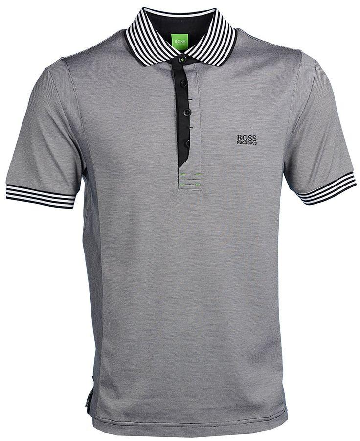 Hugo Boss Pavel Modern Fit Polo Shirt - Black