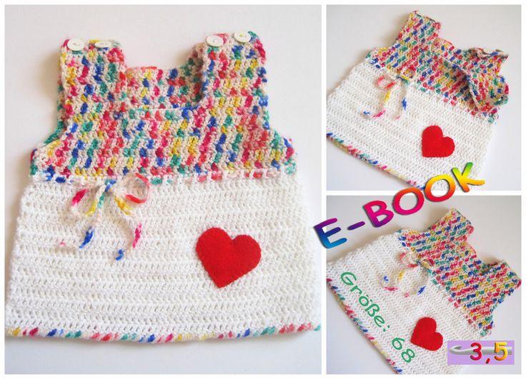 8 best Baby Kleidung häkeln images on Pinterest | Kleidung häkeln ...