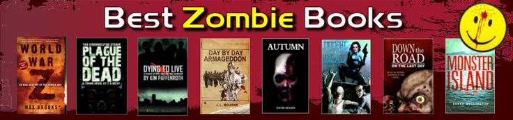 Best Zombie Books - the ultimate list of zombie books and stories of the undead.