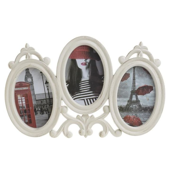 Photo Frame With 3 Sections - Frames Poliresin - FRAMES-ALBUMS - inart