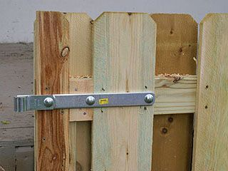 Build An 8 Foot Long Gate For A Backyard Fence Wide