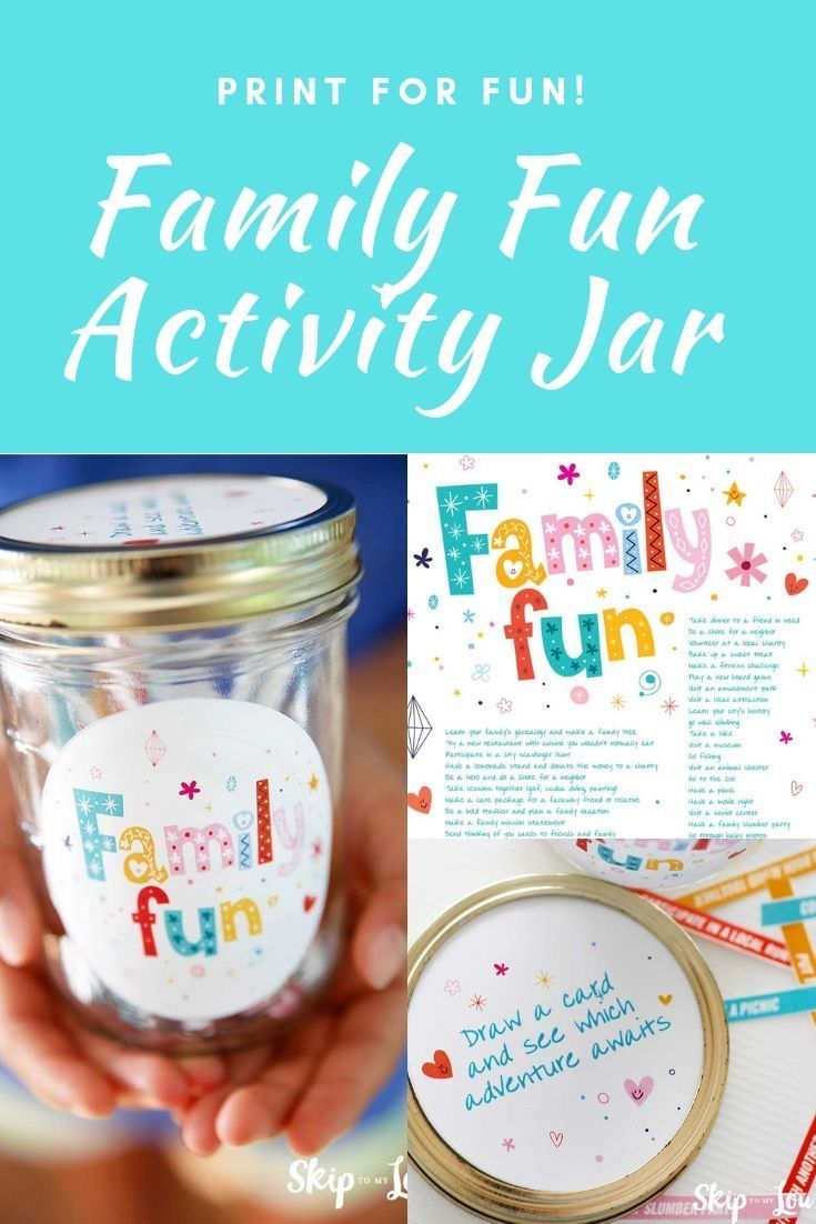 Family Fun The Best Family Activities Family Fun Family Activities Activity Jar