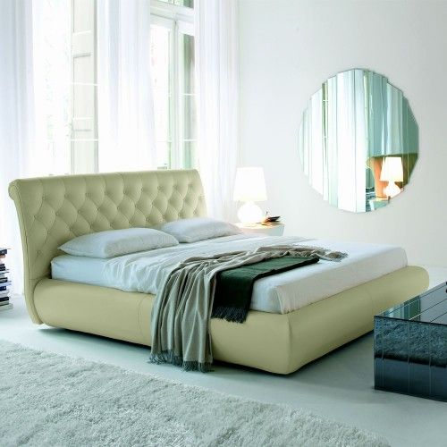 Upholstered bed with headboard covered capitonn  in fabric  synthetic  leather or in soft leather as per sample card  Optional  pull up slats wit. 74 best Bedroom Furniture images on Pinterest   Bedroom furniture