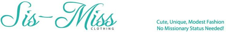 Cute website for sister missionary clothes!  So many options!  http://www.sis-miss.com