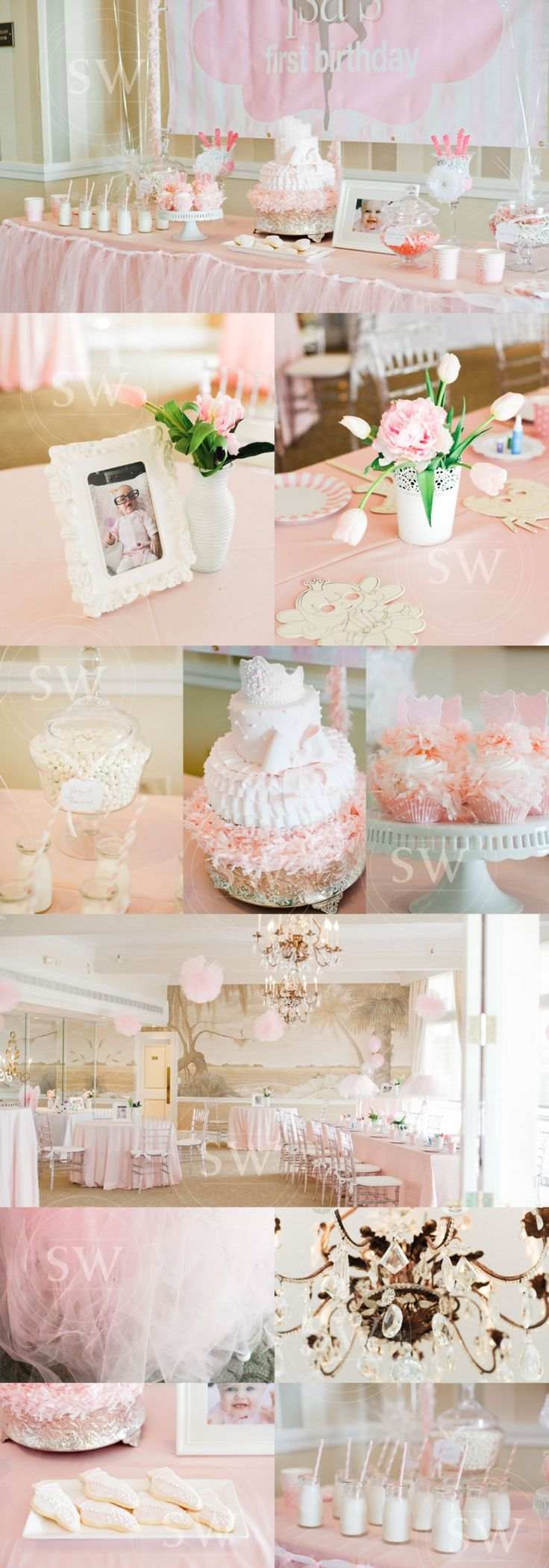 First Birthday Party Details | Stacey Woods Photography