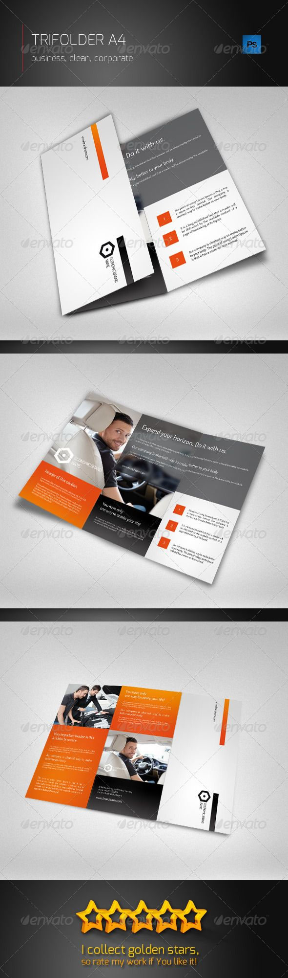 Trifolder Business Brochure - Corporate Brochures