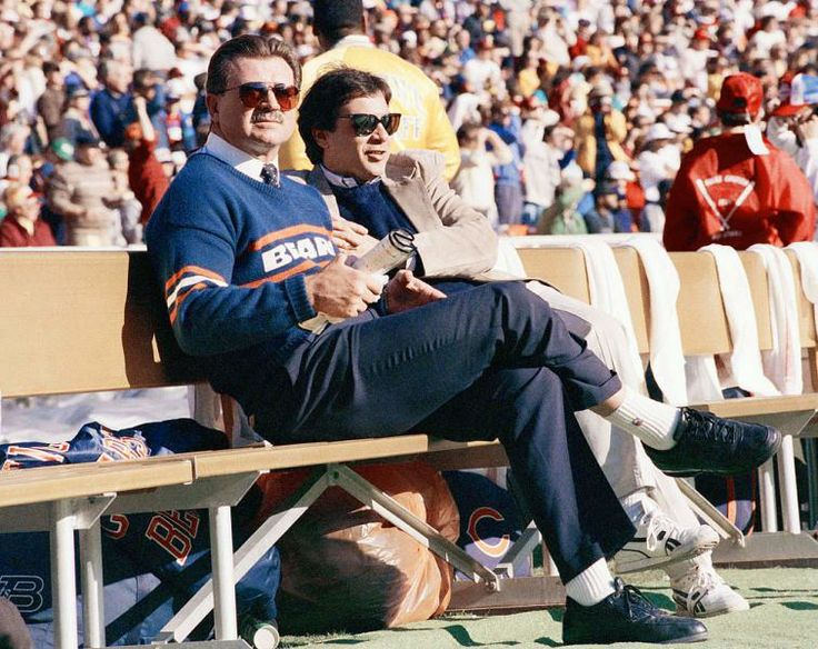 Chicago Bears coach Mike Ditka
