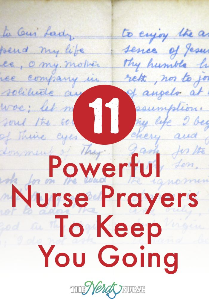 Being a nurse is one of the hardest things in the world. Many nurses find that nurse prayers can offer just what they need to keep on going.