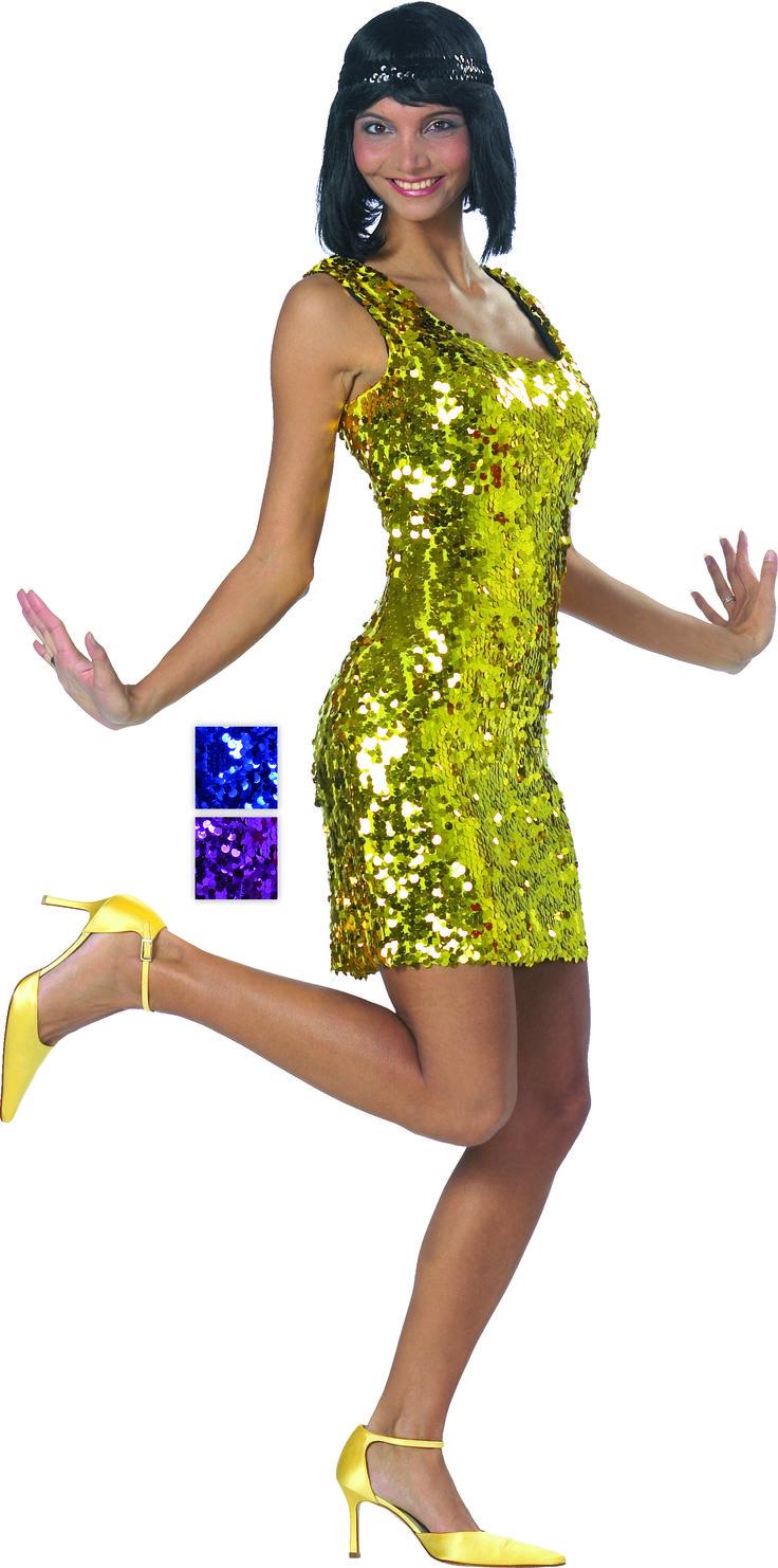 Paillettenkleid Gold oder Silber
