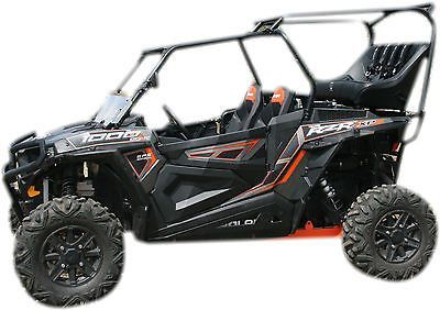 Polaris RZR 1000 Back Seat and Roll Cage Kit (Kit + 2 Accessories + FREE Shipping)