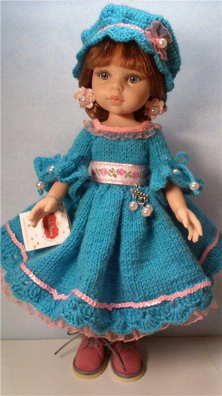"""Комплект """"Голубые мечты"""" для кукол Паола Рейна. / Одежда для кукол / Шопик. Продать купить куклу / Бэйбики. Куклы фото. Одежда для кукол"""