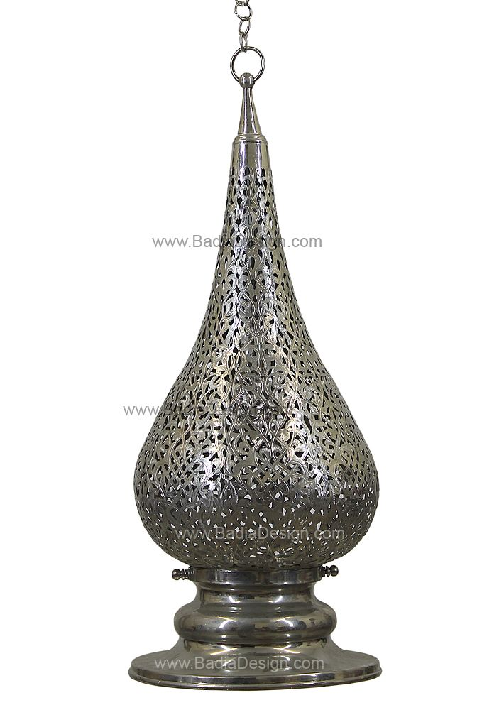 70 best images about moroccan brass and silver chandeliers imported from morocco on pinterest - Moorish chandelier ...