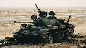 Resultado de imagen de iraqI t-55 Vs. Challenger