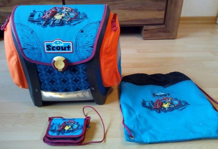 Schulranzen  für Grundschule von  der echte SCOUT in Büro & Schreibwaren, Schulbedarf, Ranzen, Taschen & Rucksäcke | eBay!