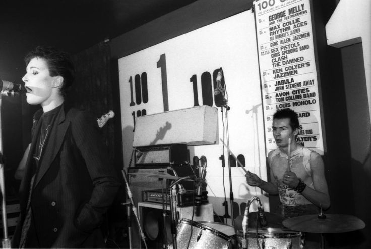 Siouxsie Sioux and Sid at the 100 Club