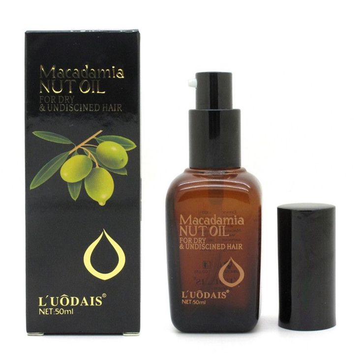50ml Hair Argan Oil Macadamia Nut Oil For Dry and Damaged Hair