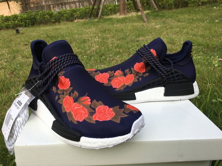Original Pharrell x adidas NMD Human Race Red [Adidas035