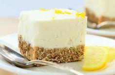 No Bake Lemon Cheesecake Recipe {Gluten-Free, Vegan} - The Nutty Scoop from Nuts.com