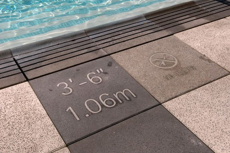 Image Result For Pool Depth Markers Pools In 2019