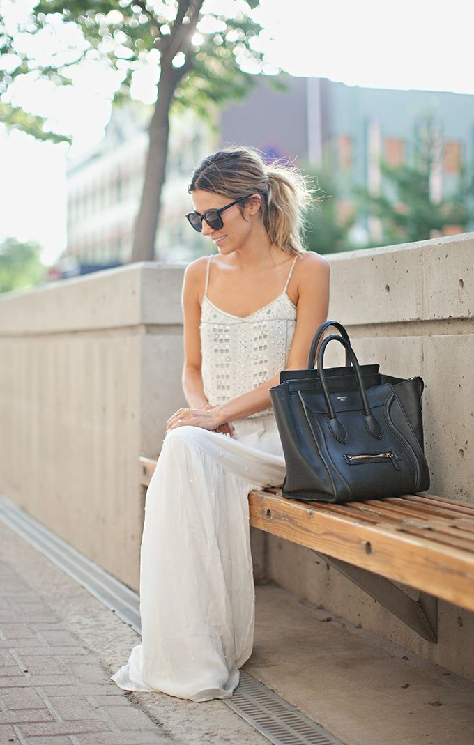 The perfect white maxi