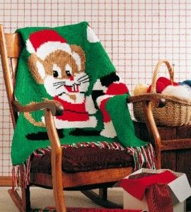 Merry Mouse Crocheted Afghan | Crocheting Crafts | Christmas Crafts — Country Woman Magazine