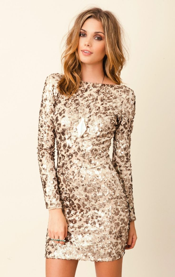 17 Best images about Amazing Long Sleeve Cocktail Dresses on ...