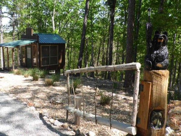 416 Sq. Ft. Whimsical Tiny Home on 2.79 Acres for Sale (SOLD) Photo