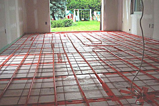 Best 25 in floor heating ideas on pinterest in floor for Radiant heat flooring options