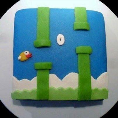 Flappy Bird Cake Pops