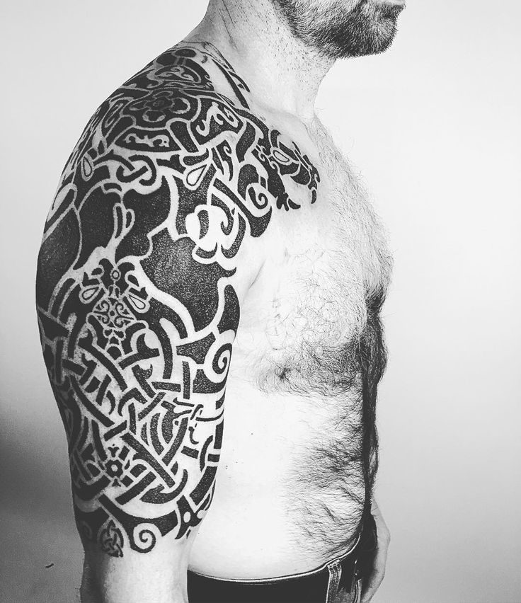 Viking Tribal Tattoos: 1000+ Ideas About Tatouage Viking On Pinterest
