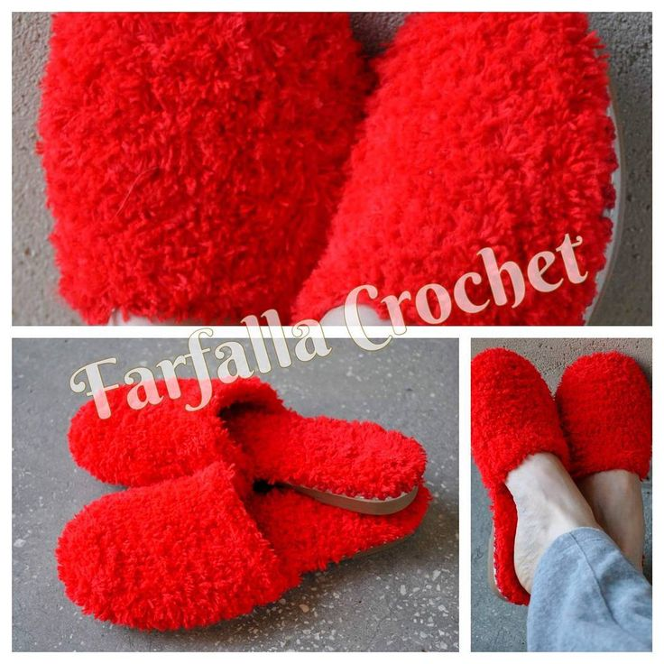 Santa's Wife slippers for winter time  #handmade #handmadeshoes #shoes  #womenshoes #crochet #crochetshoes #slippers #christmas #christmasgifts #madeinromania #bravoaistil #style #farfallacrochet