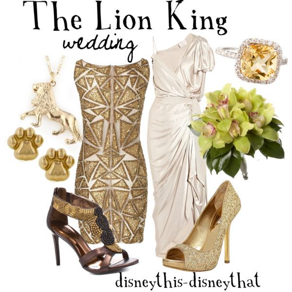 The Lion King Wedding, created by disneythis-disneythat on Polyvore
