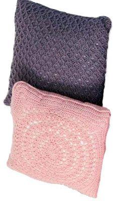 Pure Wool Crochet Cushions - Project - Spotlight Australia