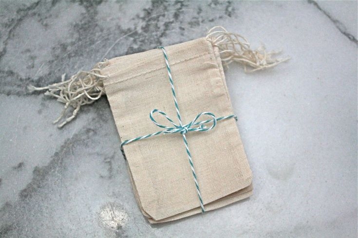Muslin favor bags 2.5 x 4. Set of 25. by ClementineWeddings, $8.50