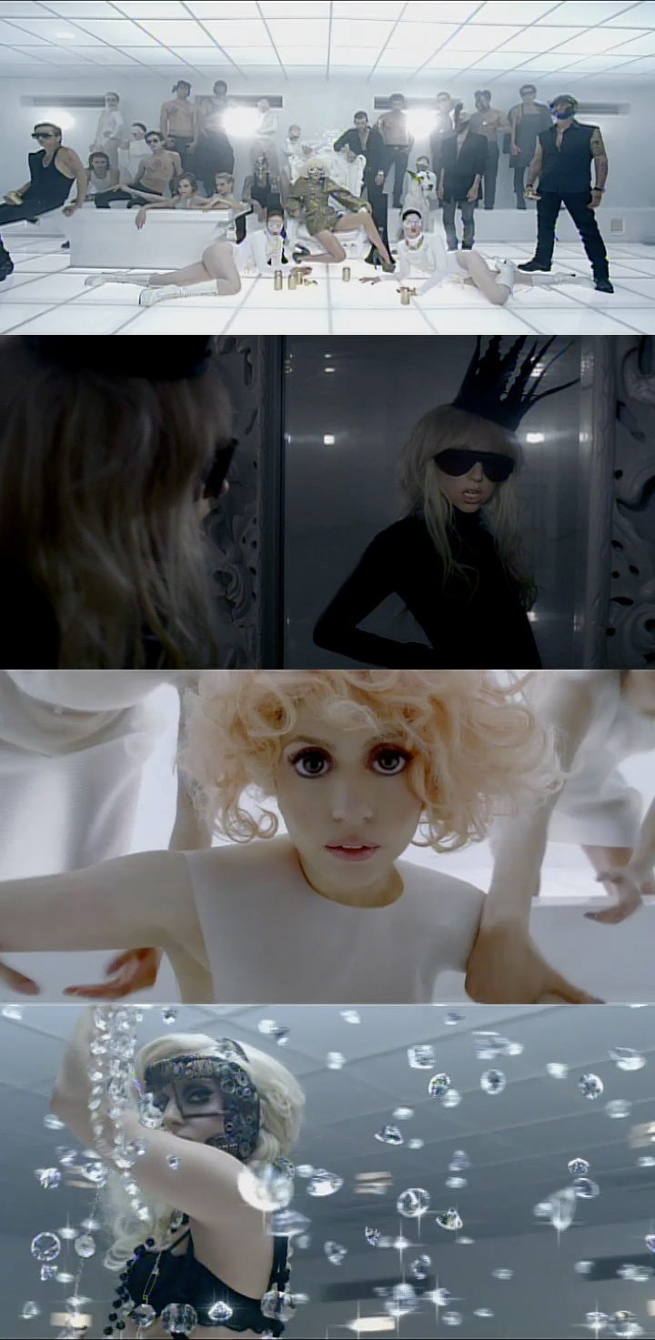 Lady Gaga - Bad Romance (Part 01). Directed by Francis Lawrence.