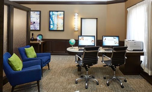 Homewood Suites by Hilton Chicago-Lincolnshire Hotel, IL - 24 Hour Business Center | IL 60069