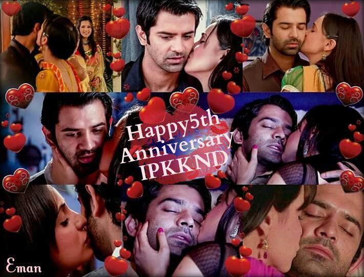 """Arnav & Khushi """"kisses"""" #ipkknd"""