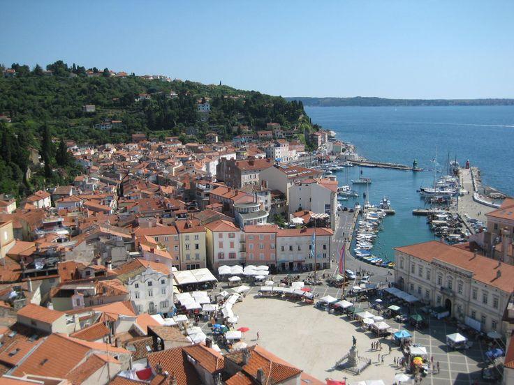 "Beautiful Piran, the ""second Venice"""