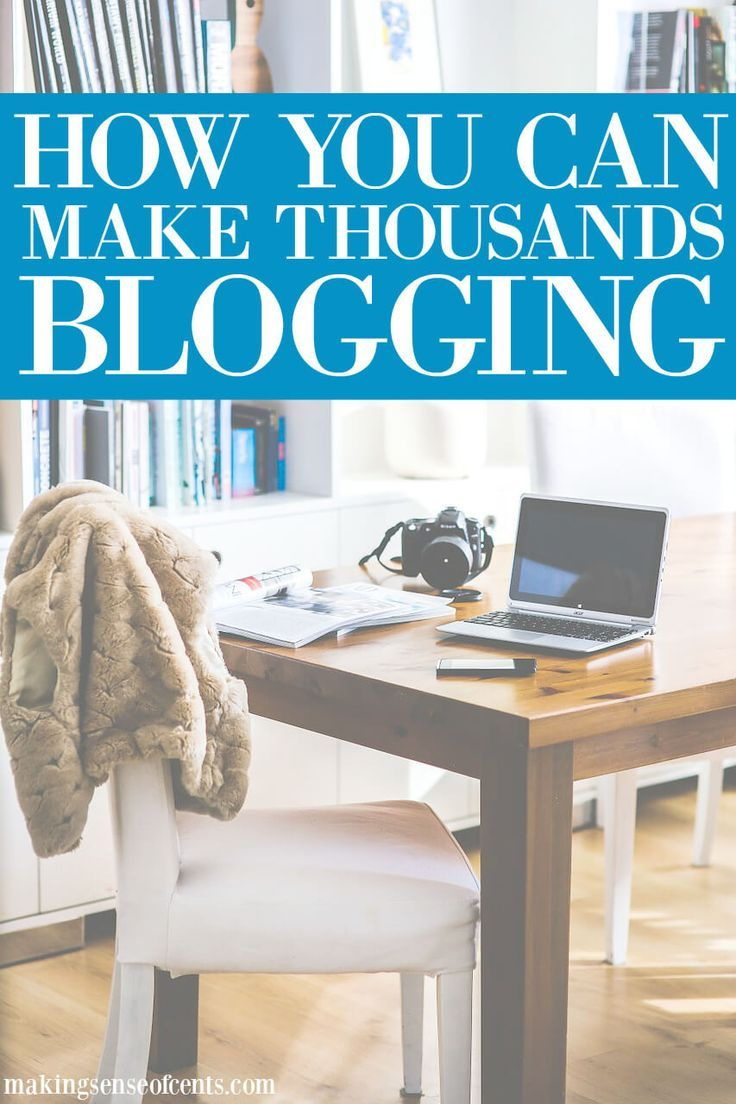 Interested in learning how to make money from blogging? Read to learn how to make money with a blog so that you can start making money from blogging.