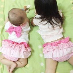 2年間履ける♡ピンク水玉のブルマ#063画像1