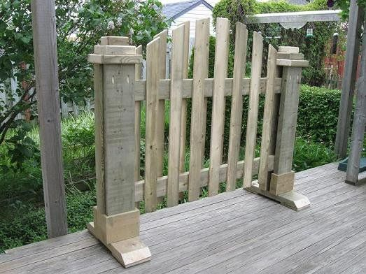 17 best ideas about pallet privacy fences on pinterest for Portable garden screen