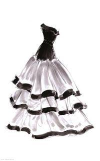 Dibujos de vestidos para imprimir                                                                                                                                                      Más